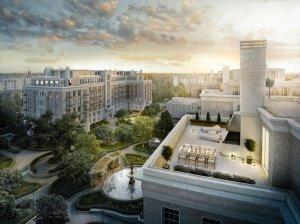 Планировки квартир в новостройках СПб: жильё с террасами