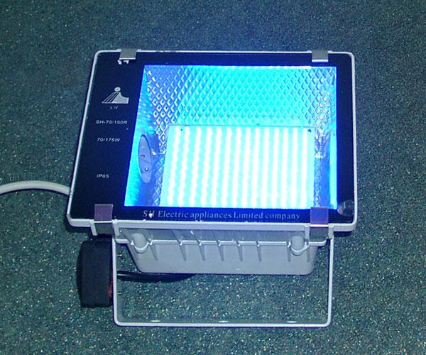 Как сделать прожектор на светодиодах