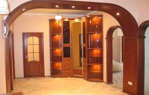 Как задекорировать проход в помещение без использования дверей