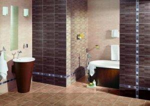 Керамическая плитка для маленькой ванны