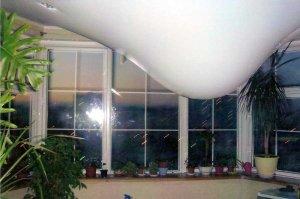 Эксплуатация и ремонт натяжного потолка