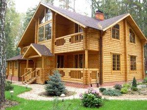 Материалы для строительства деревянного коттеджа