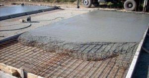 Использование бетона в строительстве