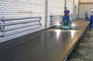 Технология залаивки бетонного пола