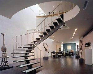 Лестницы на второй этаж как элемент дизайна