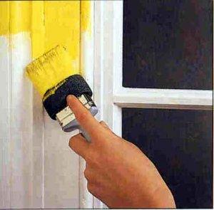Покраска межкомнатной двери алкидной эмалью