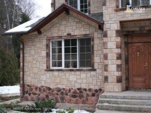 Использование облицовочного камня для отделки фасадов