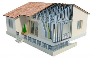 Строительство жилых и промышленных зданий из металлоконструкций