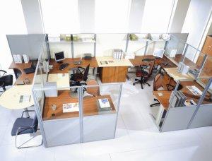 Офисные перегородки: зонируем рабочее пространство