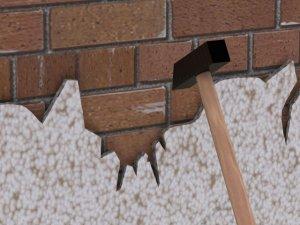 Подготовка поверхности стен под штукатурку