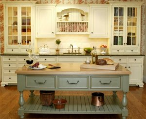 Особенности интерьера кухни в стиле кантри
