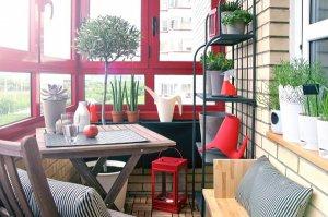 Обустройство балконов и лоджий