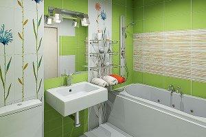 Как грамотно обустроить маленькую ванную комнату?