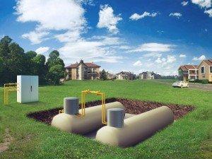 Нужен ли газгольдер для загородного дома