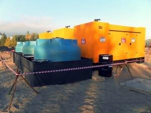 Дизельные генераторы для строительства