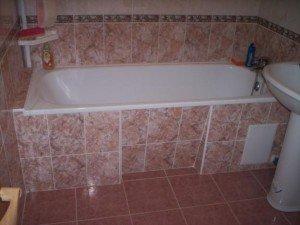 Особенности монтажа акриловой ванны