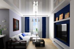 Почему так популярен белый натяжной потолок?