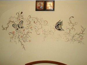 Оригинальные решения для декорирования стен своими руками