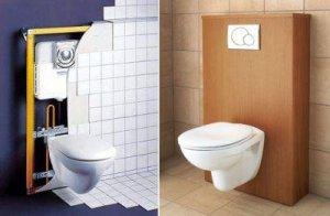 Выбор системы инсталляции для унитаза