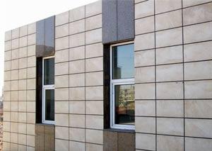 Разновидности фасадной керамической плитки