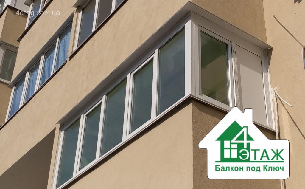"""Стоимость балкона. сколько стоит остекление и отделка? """" рас."""