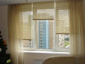 Как повесить рулонные шторы в зависимости от их вида?