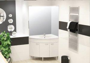 Преимущества и легкость монтажа угловой раковины с тумбой для ванной